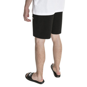 "Thumbnail 2 of Fusion Twill Shorts 8"", Puma Black, medium"