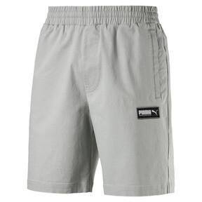 "Thumbnail 1 of Fusion Twill Shorts 8"", Limestone, medium"