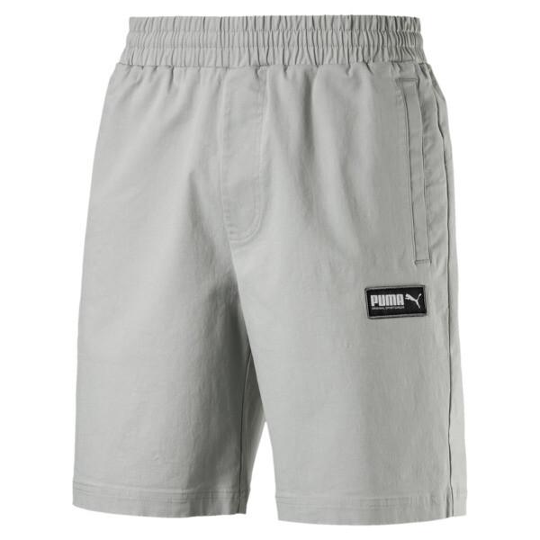 "Fusion Twill Shorts 8"", Limestone, large"