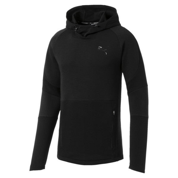 Evostripe Move Men's Hoodie, Puma Black, large