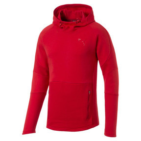 Thumbnail 5 of Evostripe Move Men's Hoodie, High Risk Red, medium