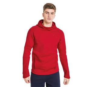 Thumbnail 1 of Evostripe Move Men's Hoodie, High Risk Red, medium
