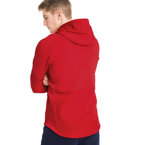 Thumbnail 2 of Evostripe Move Men's Hoodie, High Risk Red, medium