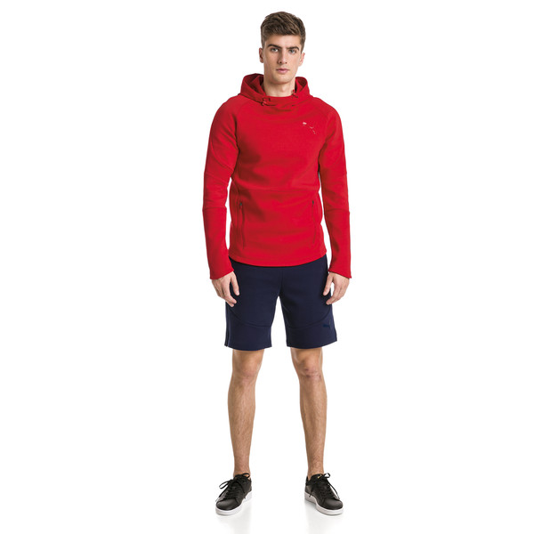 Evostripe Move Men's Hoodie, High Risk Red, large