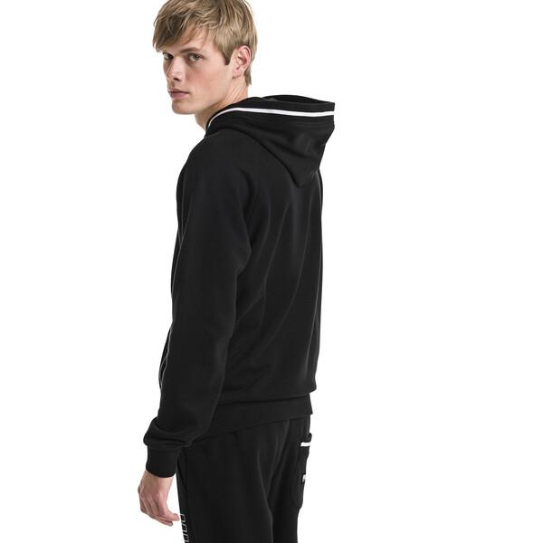 Athletics Men's Hoodie, Cotton Black, large