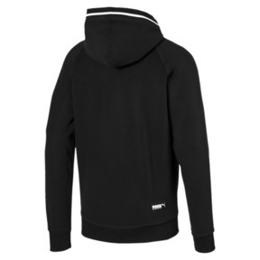 Thumbnail 5 of Athletics Men's Hooded Jacket, Cotton Black, medium