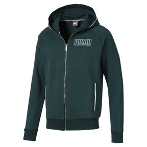 Thumbnail 4 of Athletics Men's Hooded Jacket, Ponderosa Pine, medium