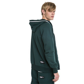 Thumbnail 2 of Athletics Men's Hooded Jacket, Ponderosa Pine, medium