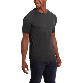 Thumbnail 1 of Evostripe Men's evoKNIT Tee, Puma Black, medium