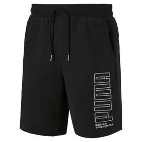 Thumbnail 4 of Athletics Men's Sweat Shorts, Cotton Black, medium