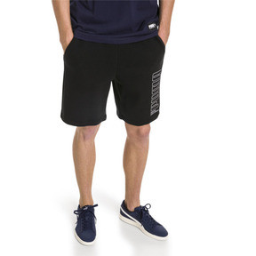 Thumbnail 1 of Athletics Men's Sweat Shorts, Cotton Black, medium