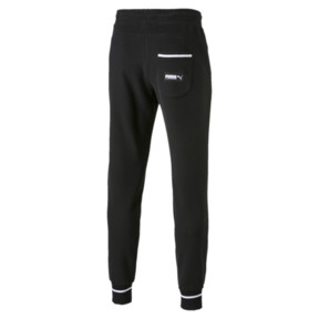 Thumbnail 5 of Athletic Men's Pants, Cotton Black, medium