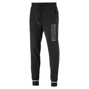 Thumbnail 4 of Athletic Men's Pants, Cotton Black, medium