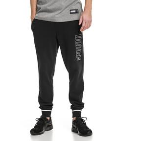 Thumbnail 1 of Athletic Men's Pants, Cotton Black, medium