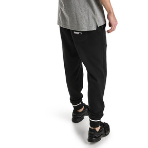 Thumbnail 2 of Athletic Men's Pants, Cotton Black, medium