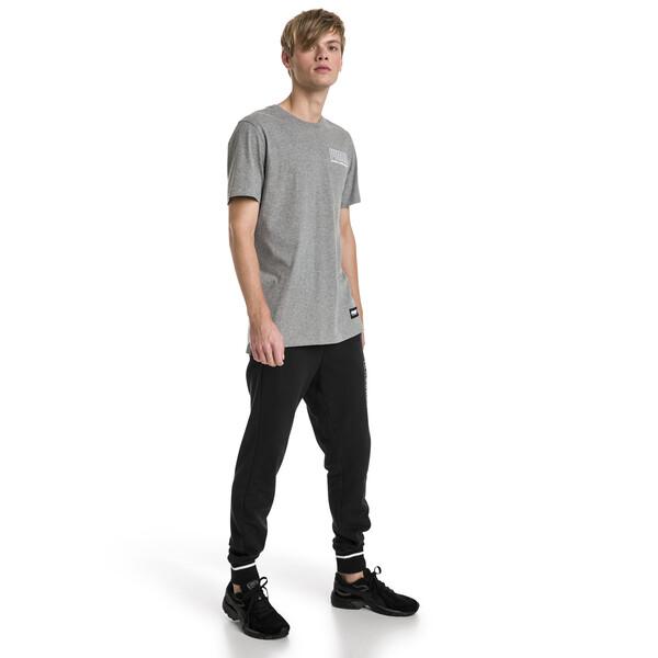 Athletic Men's Pants, Cotton Black, large
