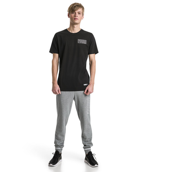 Athletic broek voor mannen, Medium Gray Heather, large
