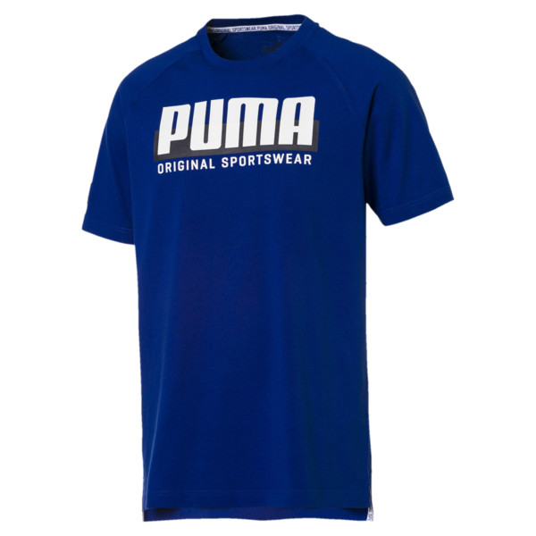 Athletics T-shirt met print voor mannen, Surf The Web, large