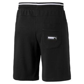 "Thumbnail 5 of Athletics 8"" Men's Shorts, Cotton Black, medium"