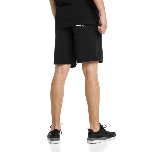 "Athletics 8"" Men's Shorts, Cotton Black, large"