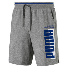 Thumbnail 4 of Athletics Herren Shorts, Medium Gray Heather, medium