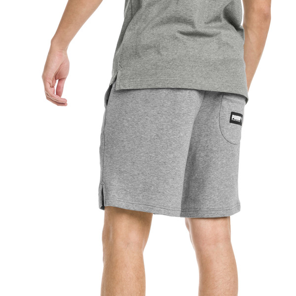 "Athletics 8"" Men's Shorts, Medium Gray Heather, large"