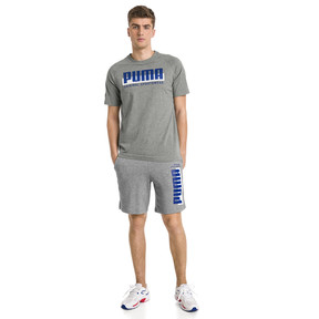 Thumbnail 3 of Athletics Herren Shorts, Medium Gray Heather, medium