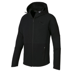 Thumbnail 5 of Evostripe Move Hooded Jacket, Puma Black, medium