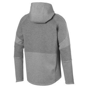 Thumbnail 5 of Blouson à capuche Evostripe Move pour homme, Medium Gray Heather, medium