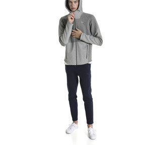 Thumbnail 3 of Blouson à capuche Evostripe Move pour homme, Medium Gray Heather, medium