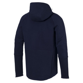 Thumbnail 5 of Blouson à capuche Evostripe Move pour homme, Peacoat, medium