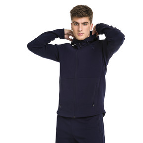 Thumbnail 1 of Blouson à capuche Evostripe Move pour homme, Peacoat, medium