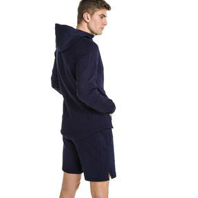 Thumbnail 2 of Blouson à capuche Evostripe Move pour homme, Peacoat, medium