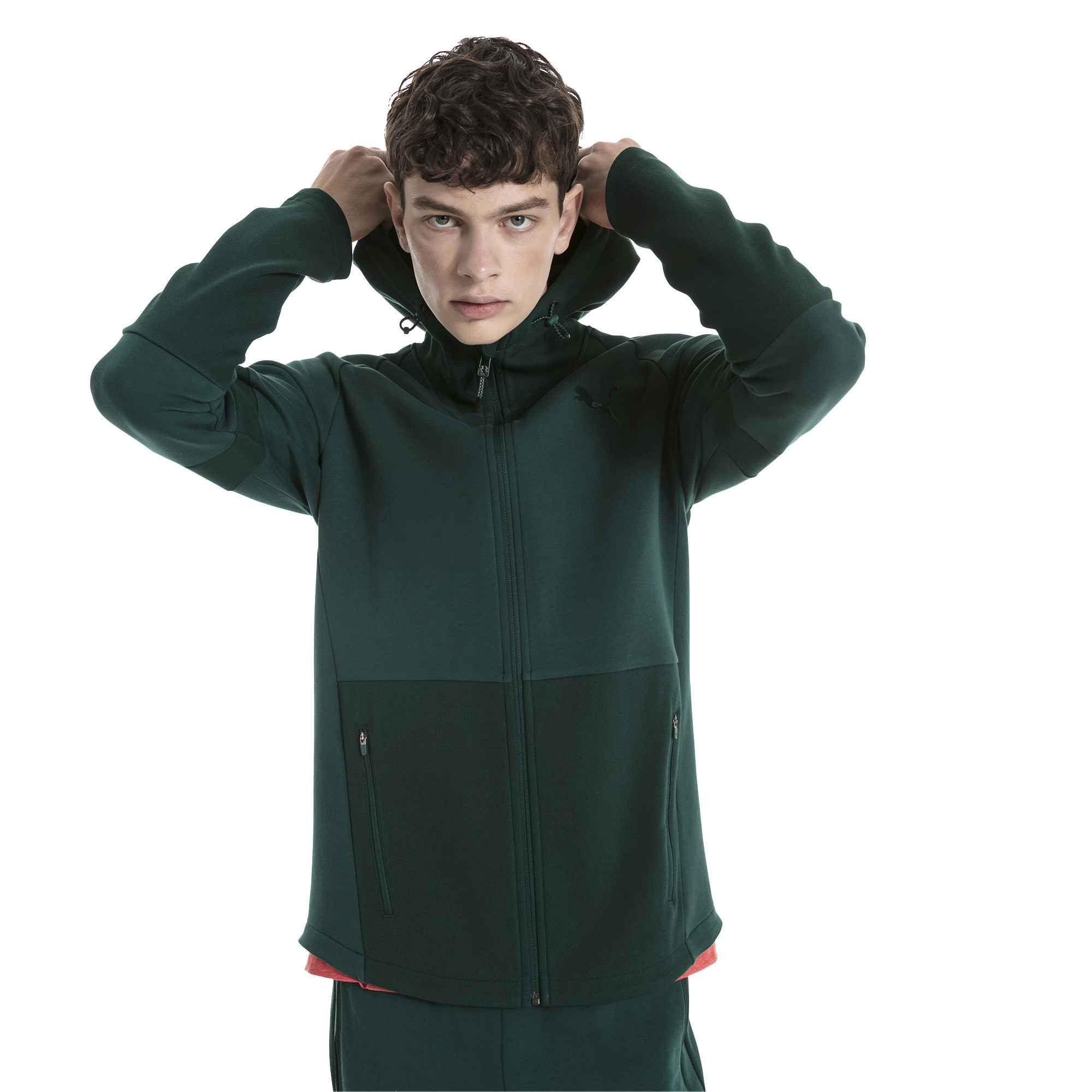 Image Puma Evostripe Move Men's Hooded Jacket #1
