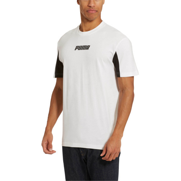 6e86ef34def Rebel Men's Tee | Puma White | PUMA T-Shirts | PUMA United States