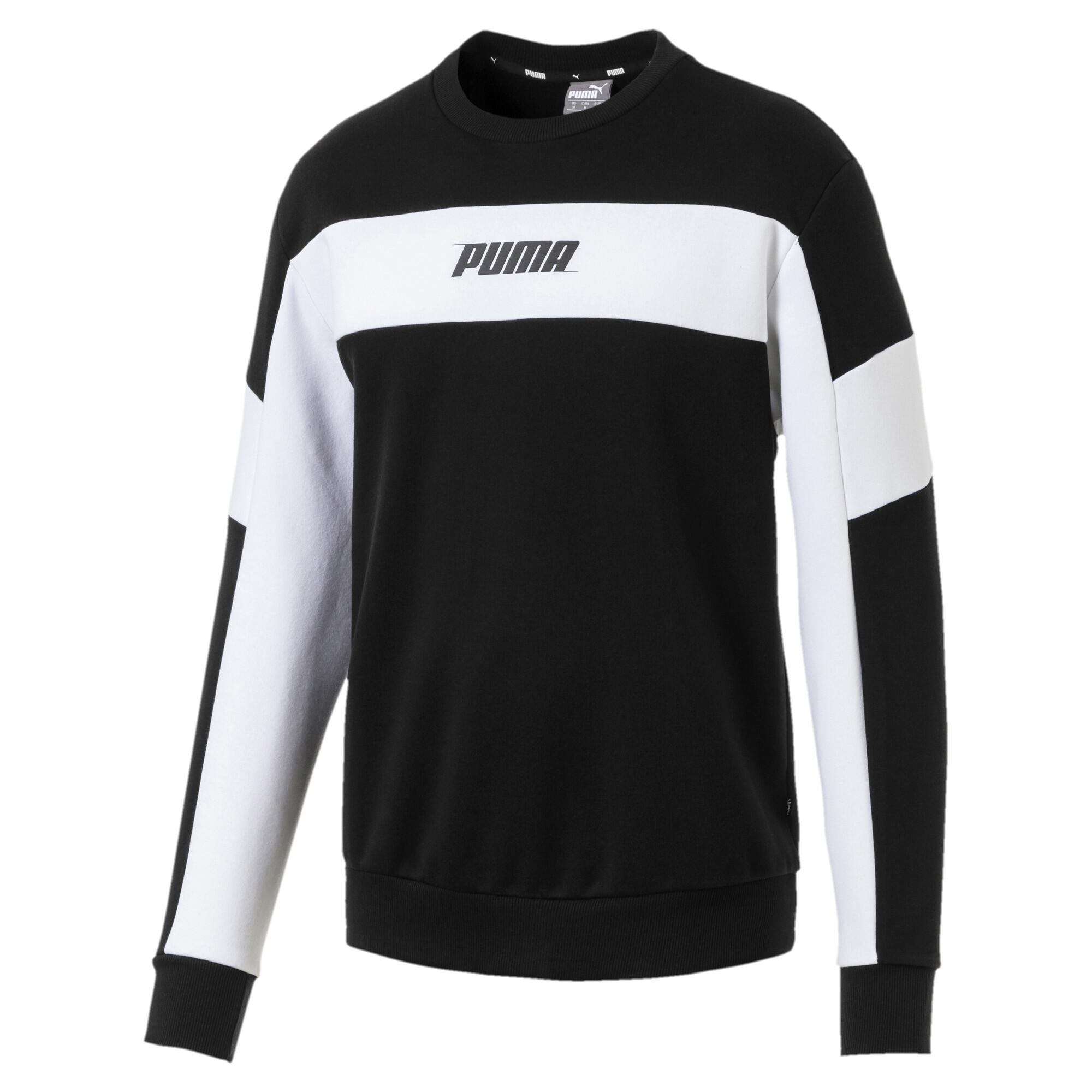 Image Puma Rebel Fleece Men's Sweater #4