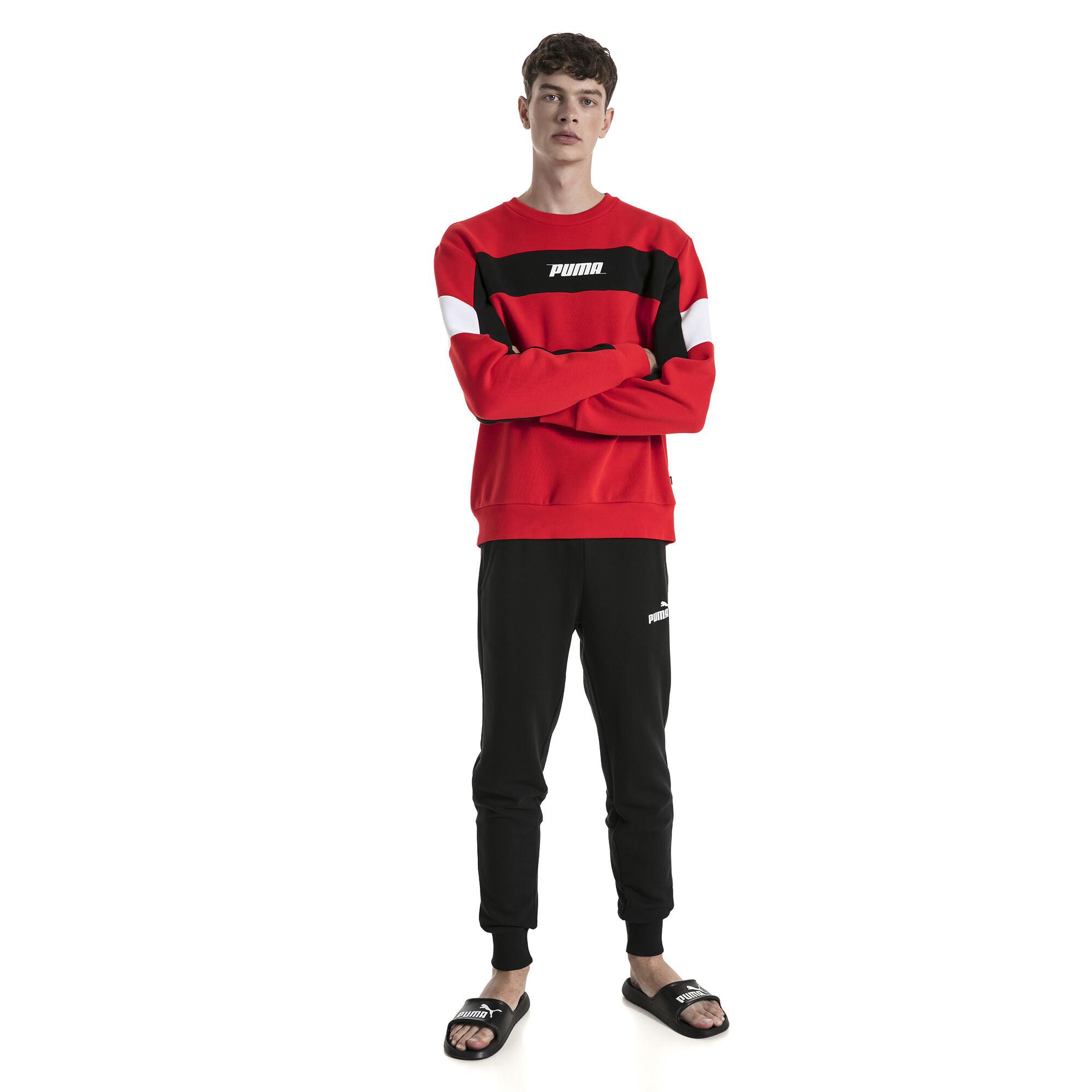 Image Puma Rebel Fleece Men's Sweater #3