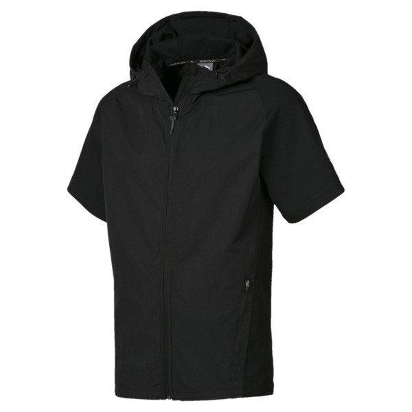 Evostripe Lite Men's Hoodie, Puma Black, large