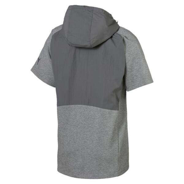 Evostripe Lite Men's Hoodie, Medium Gray Heather, large