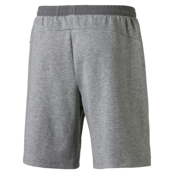 Evostripe Lite Men's Shorts, Medium Gray Heather, large