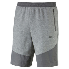 Thumbnail 2 of Evostripe Lite Men's Shorts, Medium Gray Heather, medium