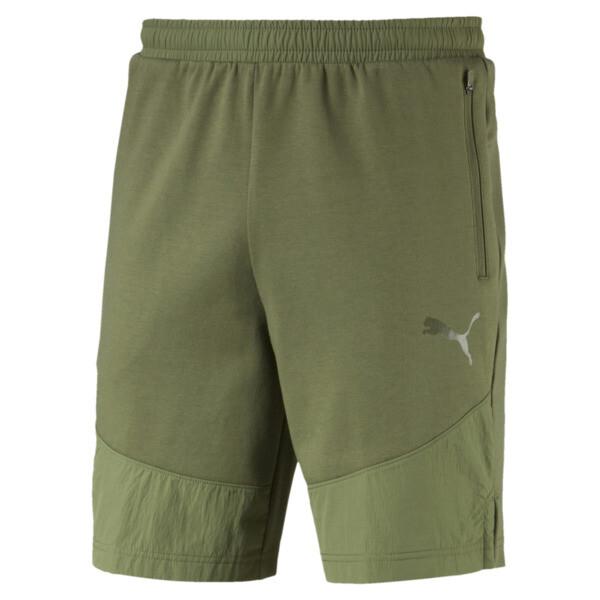 Evostripe Lite Men's Shorts, Olivine, large