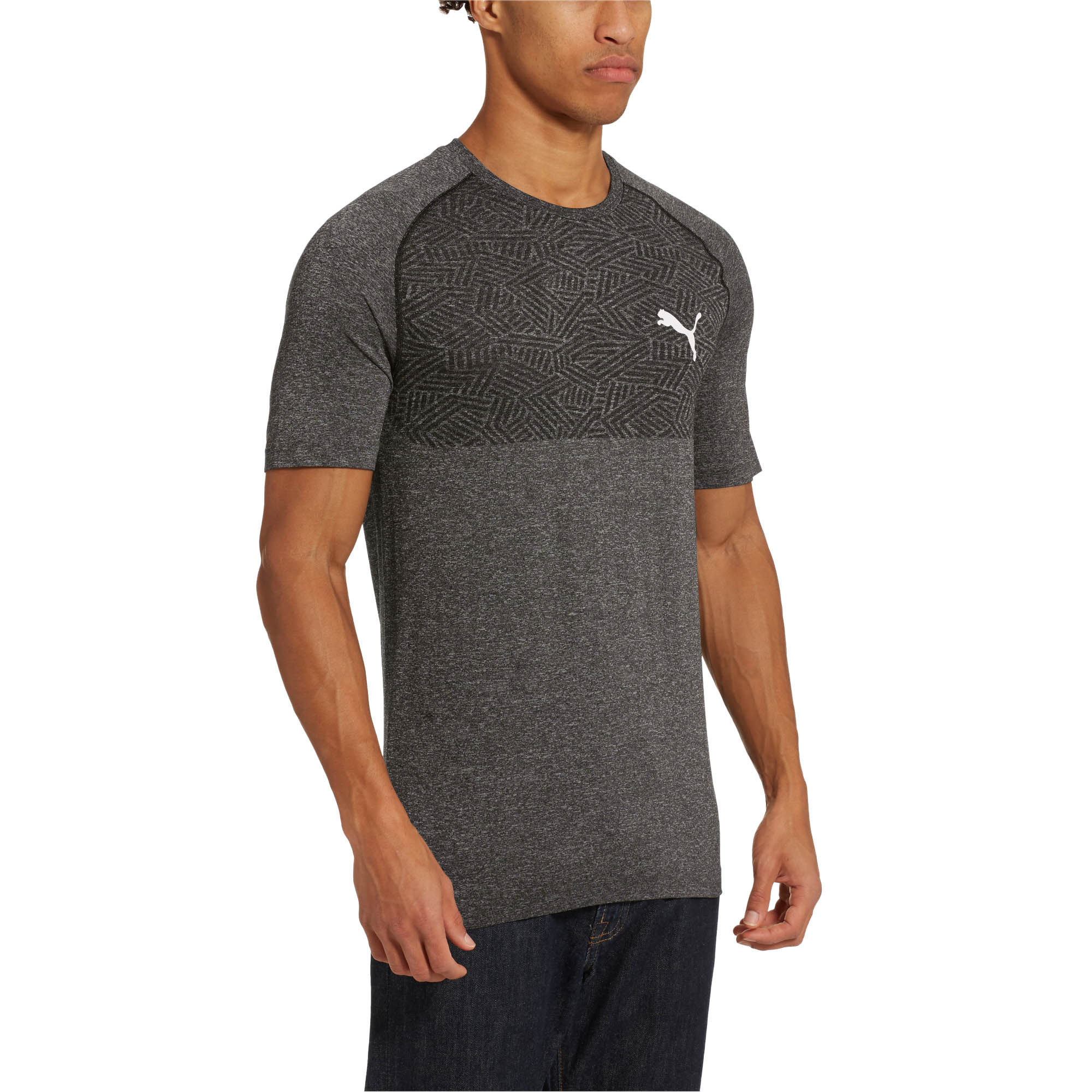 PUMA-Tec-Sports-Men-s-evoKNIT-Tee-Men-Tee-Basics thumbnail 10