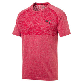 Thumbnail 1 of Tec Sports Men's evoKNIT Tee, High Risk Red, medium