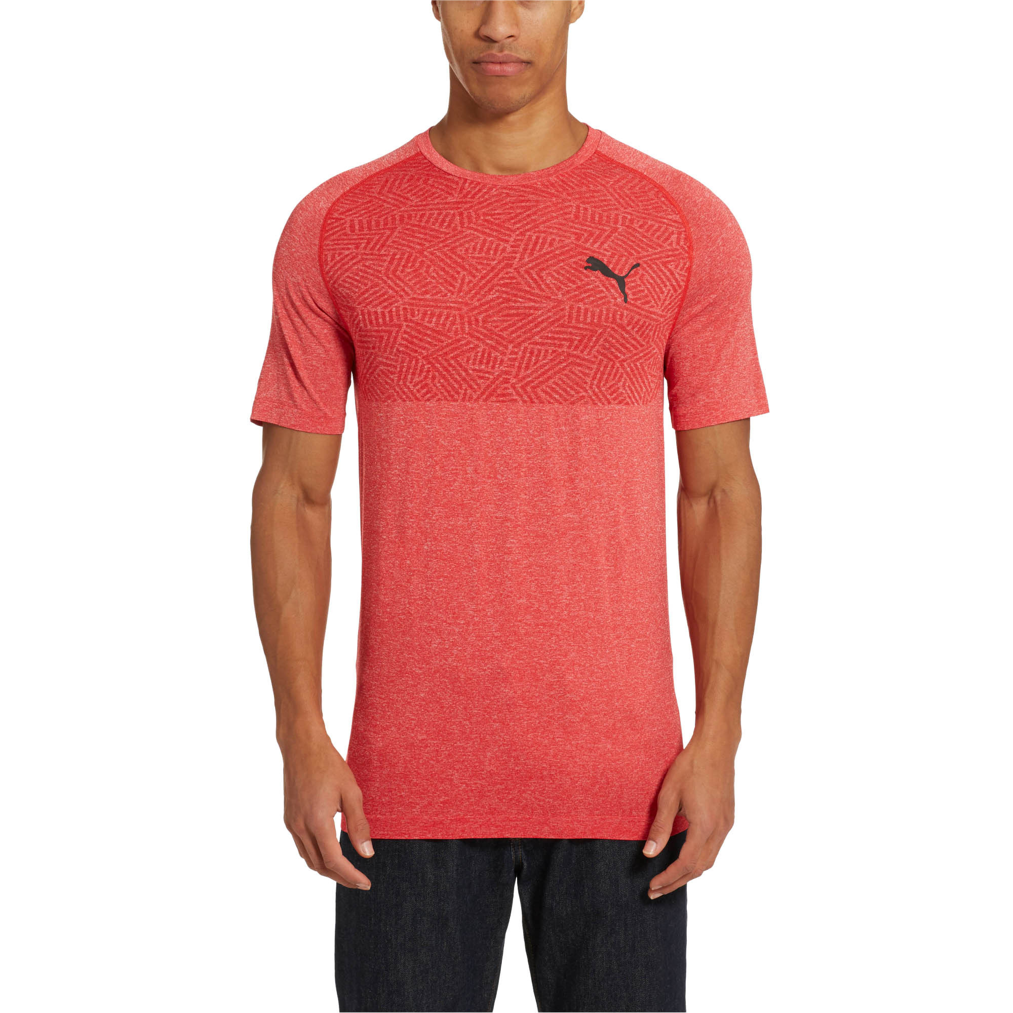 PUMA-Tec-Sports-Men-s-evoKNIT-Tee-Men-Tee-Basics thumbnail 13