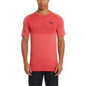 Thumbnail 2 of Tec Sports Men's evoKNIT Tee, High Risk Red, medium