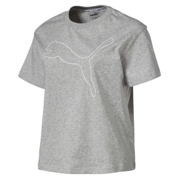 Evostripe Tee Light Gray Heather