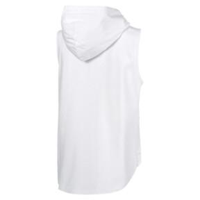 Thumbnail 4 of Evostripe Lite Women's Sleeveless Hooded Jacket, Puma White, medium