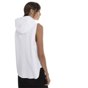 Thumbnail 3 of Evostripe Lite Women's Sleeveless Hooded Jacket, Puma White, medium