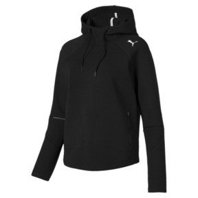 Thumbnail 4 of Evostripe Move Women's Hoodie, Puma Black, medium